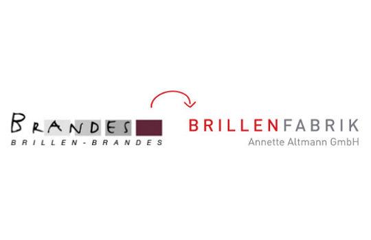 Aus Brillen Brandes in Reinheim wird Brillenfabrik Annette Altmann